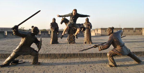 Ancient city of Pingyao China