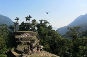 flying into ciudad perdida