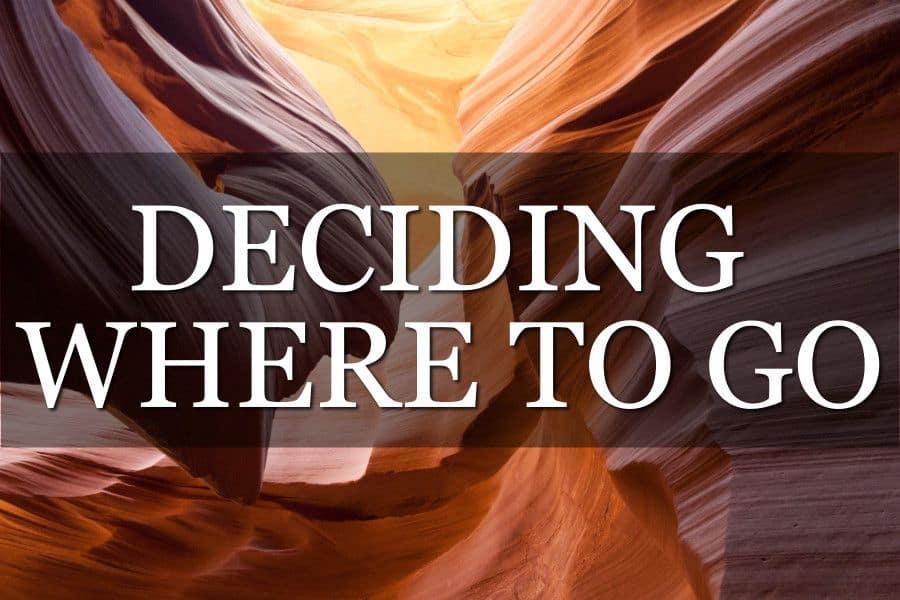 Deciding Where to Go Travelling
