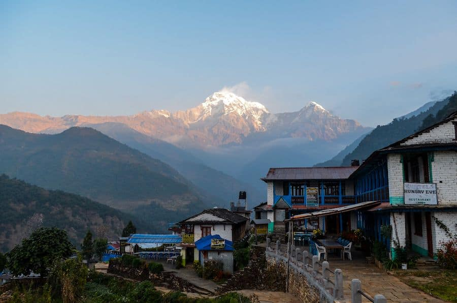 Hiking to Poon Hill Nepal