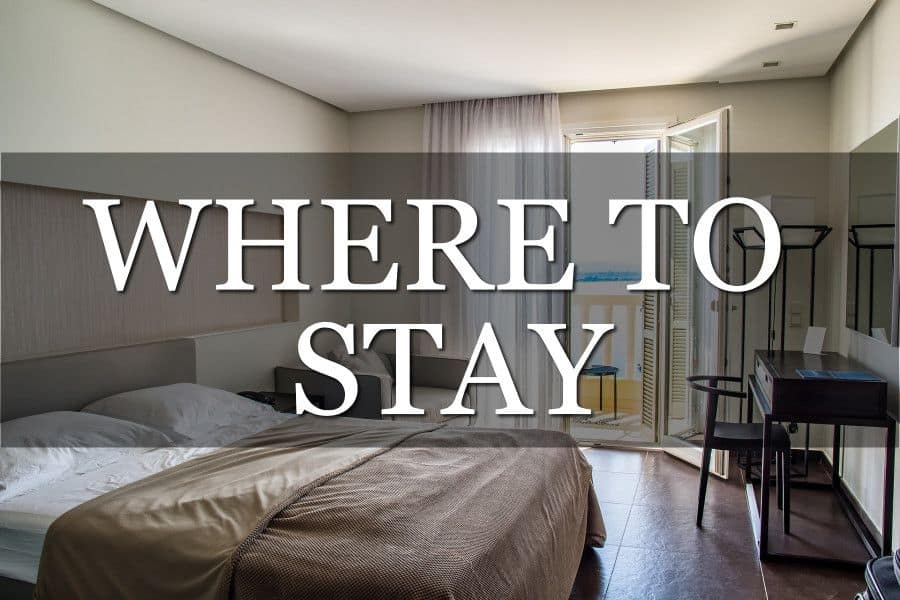 Deciding Where To Stay Travelling