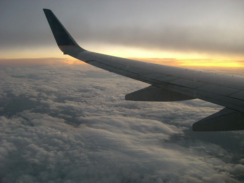 view from the window seat
