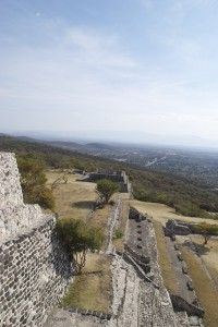 View from Xochicalco, Mexico