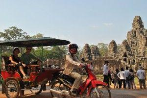 Cambodia tuk-tuk