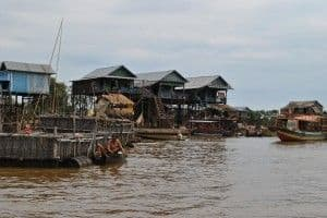 Cambodia floating village