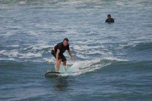Surfing Canggu Bali