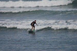 Surfing Bali Canggu