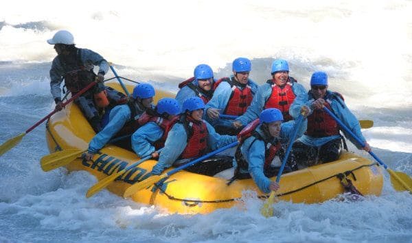 White Water Rafting Calgary