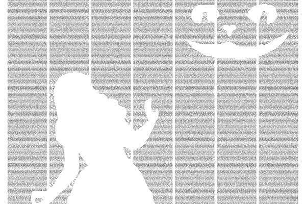 Alice in Wonderland Postertext