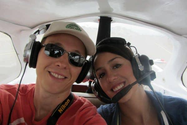 Cessna Plane Nazca Peru