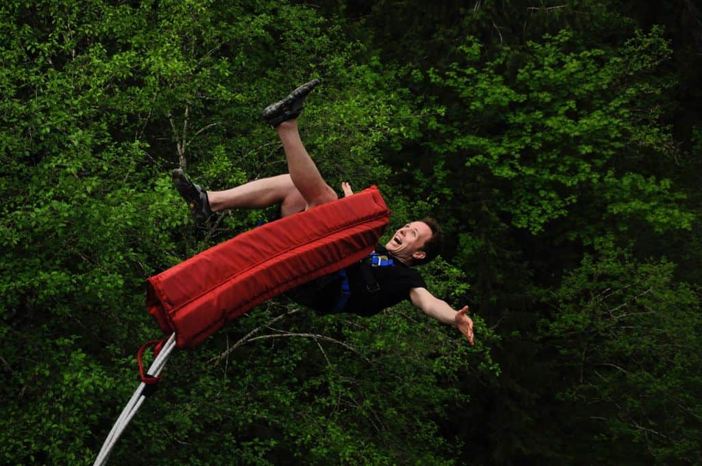 bungy jumping in Washington USA