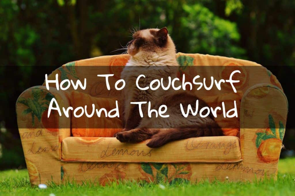 How to Couchsurf Around the World