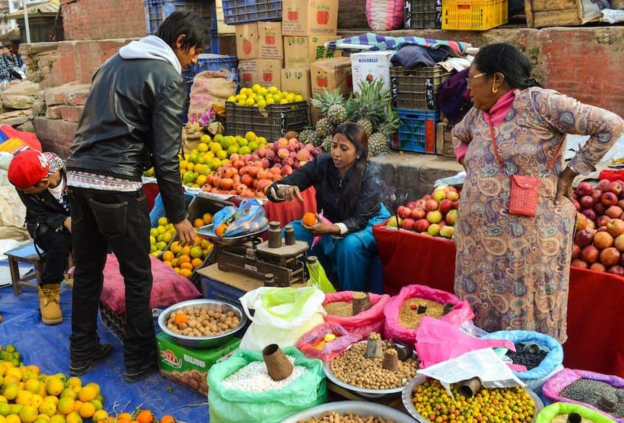 Street Market Kathmandu