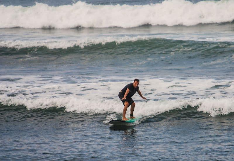 Surfing in Kuta Bali