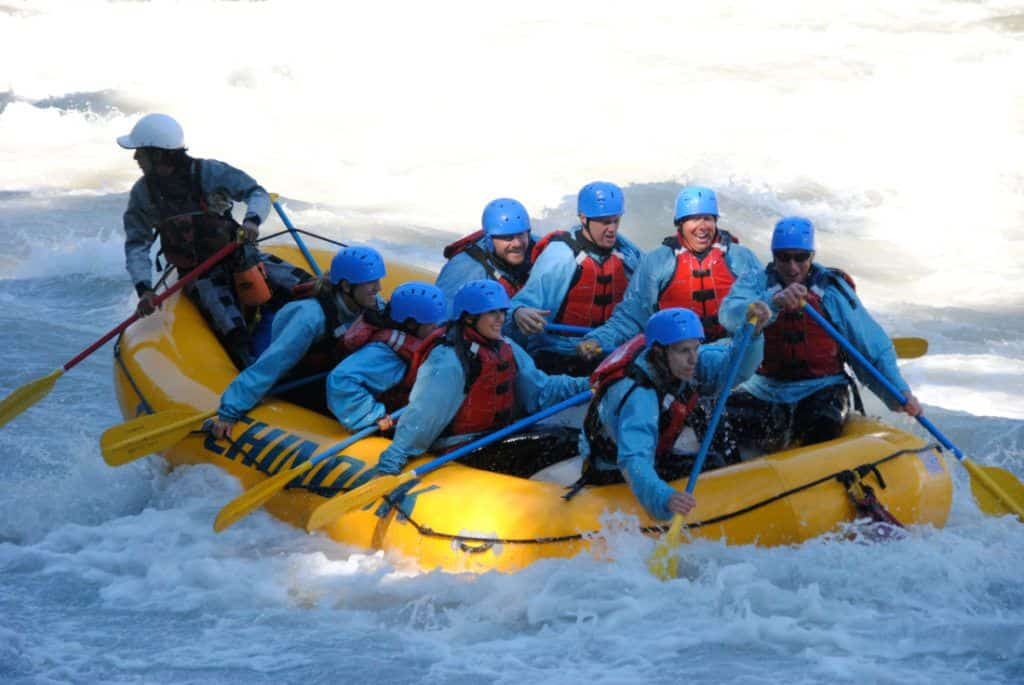 White Water Rafting Kicking Horse