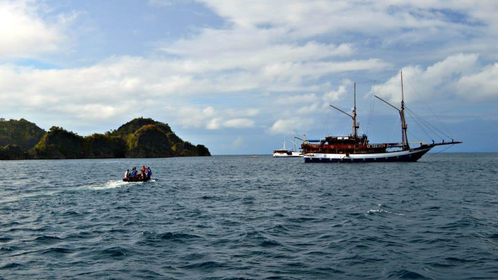 Scuba diving Raja Ampat