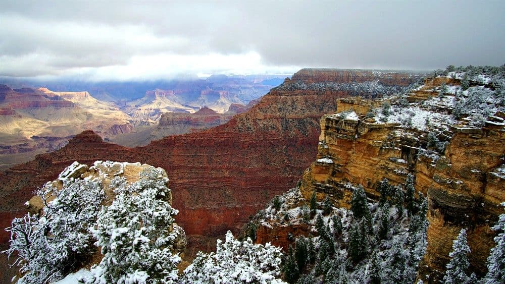 Grand Canyon in the Winter