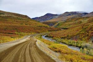 Dempster Highway in the Fall