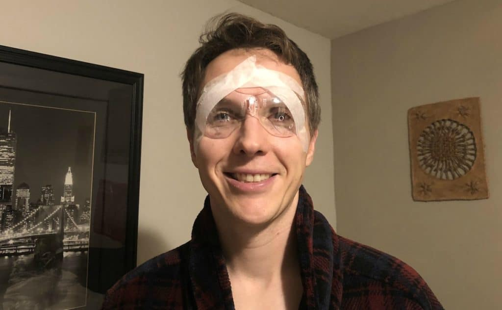 PRK Surgery recovery