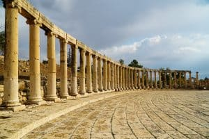 Oval Forum Jerash Things to do in jordan