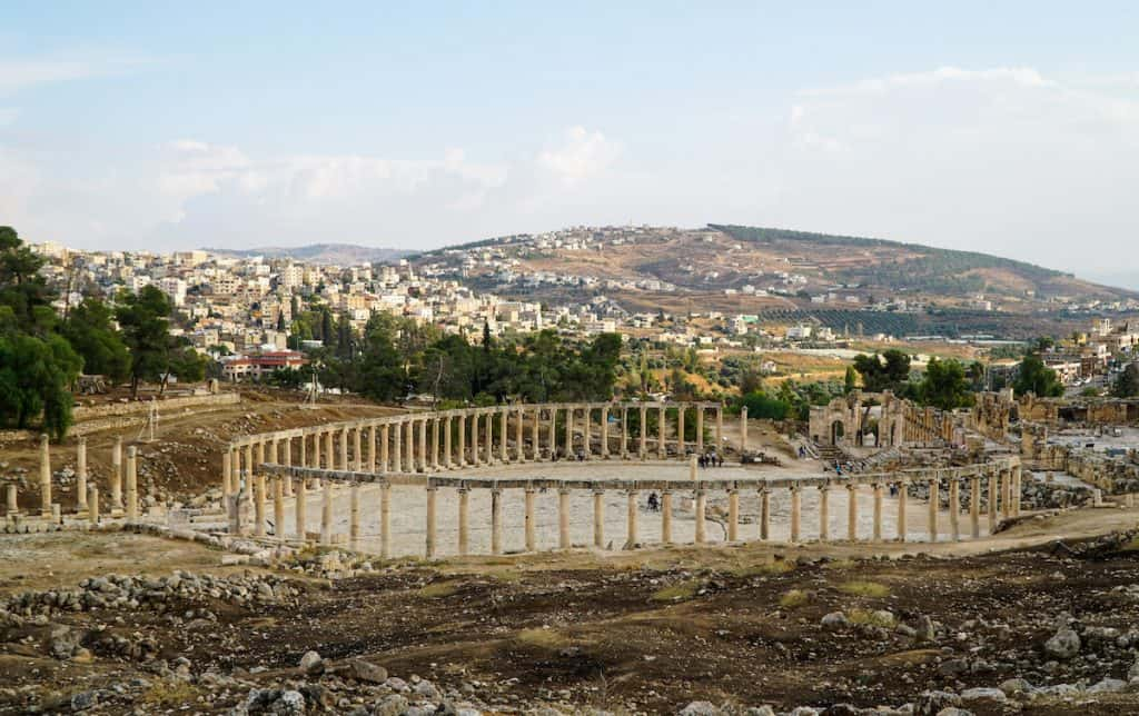 Jerash things to do in jordan