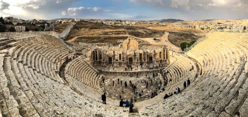 Roman Theatre of Jerash - Things To Do in Jordan