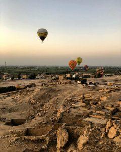 hot air balloon ride Luxor
